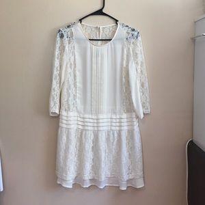 H&M Divided lace dress/blouse size 6